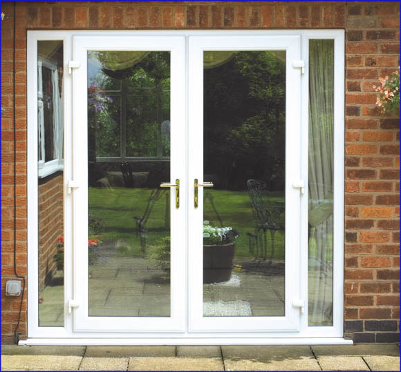 Upvc french doors many styles and options browse here for Double glazed upvc patio doors