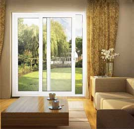 Upvc high security patio door styles and options various locks and white upvc patio door planetlyrics Choice Image