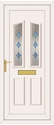 Clinton Blue Diamond - UPVC Door