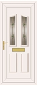 Clinton Green Fusion Gold - UPVC Doors