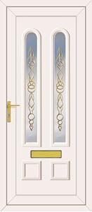 Grant Cascade Gold - UPVC Doors