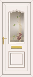Lincoln Rennie Gold - UPVC Door