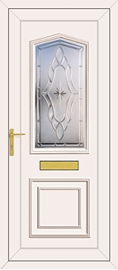 Lincoln Sentiment Clear - UPVC Doors