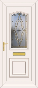 Lincoln Sentiment Gold - UPVC Doors