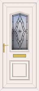 Lincoln Sentiment Ebony - UPVC Doors
