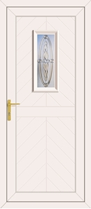 Monroe Sherwood Clear - UPVC Door