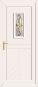 Monroe Sherwood Gold - UPVC Doors
