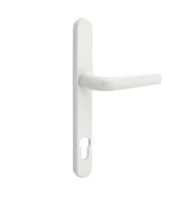 white door handle