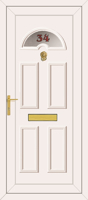 UPVC Door House Number