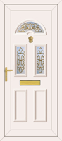Carter 3 Maryland Gold - UPVC Door