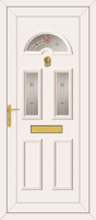 Carter 3 Rennie Gold - UPVC Door