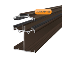 Picture of Alukap-SS Low Profile Bar 3.0m Brown