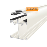 Picture of Alukap-SS Low Profile Gable Bar 4.8m White