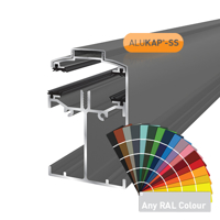 Picture of Alukap-SS Low Profile Gable Bar 6.0m PC