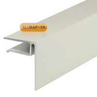 Picture of Alukap-XR 10mm End Stop Bar 3m White