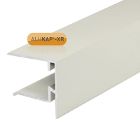 Picture of Alukap-XR 25mm End Stop Bar 3.6m White