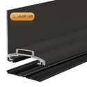 Picture of Alukap-XR 60mm Wall Bar 3.6m 45mm RG BR Alu E/Cap
