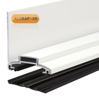 Picture of Alukap-XR 60mm Wall Bar 6.0m 45mm RG WH Alu E/Cap