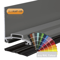 Picture of Alukap-XR 60mm Wall Bar 3.6m 45mm RG PC Alu E/Cap