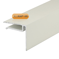 Picture of Alukap-XR 6.4mm End Stop Bar 4.8m White