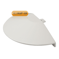 Picture of Alukap-XR Roof Lantern Radius End Cap White