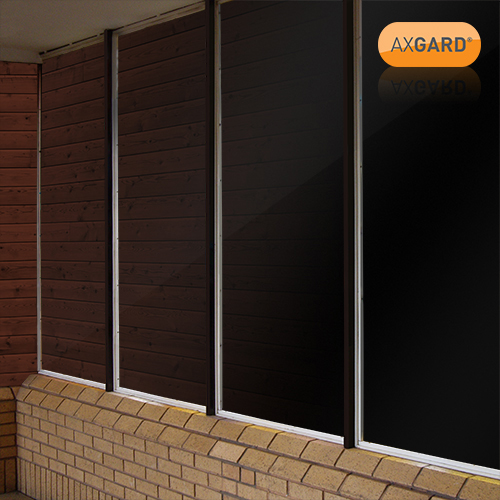 Picture of Axgard Black 6mm UV Prtc Polycarb 2050 x 500mm