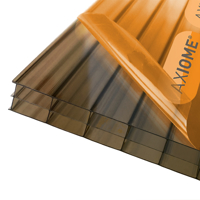 Picture of Axiome Bronze 16mm Polycarbonate 840 x 2500mm