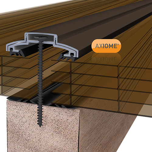 Picture of Axiome Bronze 25mm Polycarbonate 1400 x 2000mm