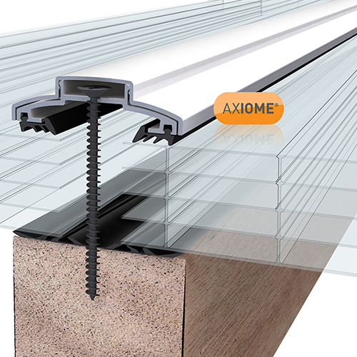Picture of Axiome Clear 25mm Polycarbonate 1050 x 4500mm
