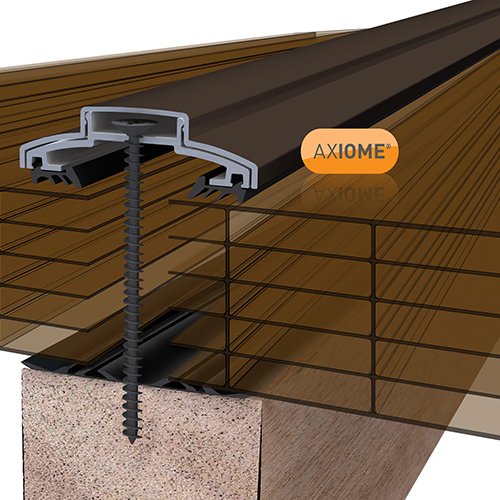 Picture of Axiome Bronze 35mm Polycarbonate 1250 x 4500mm