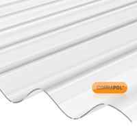 Picture of Corrapol Clear Polycarb Corrugated Sheet 840 X 1830