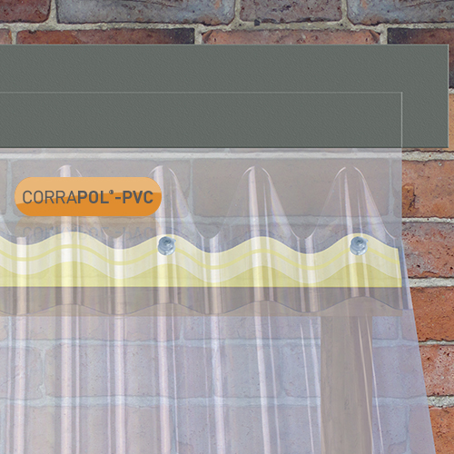Picture of Corrapol- PVC DIY Grade Wall Flashing 950mm