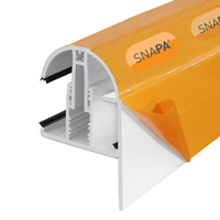 Picture of Snapa Gable Bar 10, 16, 25, 32, & 35mm.Inc.Endcp 3m White