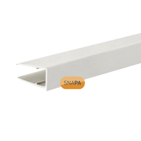 Picture of Snapa 10mm PVC Drip Trim White 2.1m