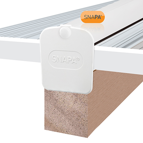 Picture of Snapa Bar Endcap White