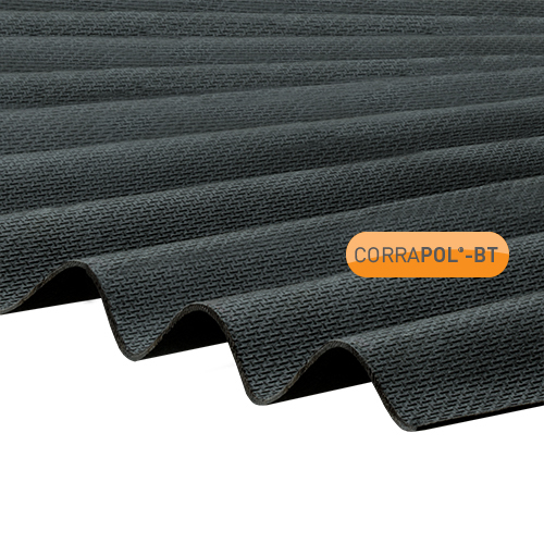 Corrapol-BT Black Corrugated Bitumen Sheet