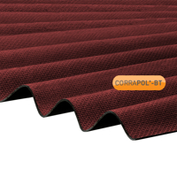 Picture of Corrapol-BT Red Corrugated Bitumen Sheet 930 X 2000mm