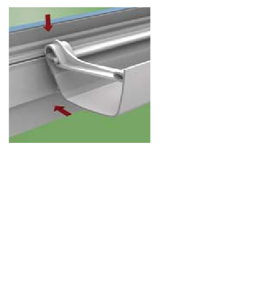 UZGU - Low Pitch Flowline Clip On Gutter Bracket