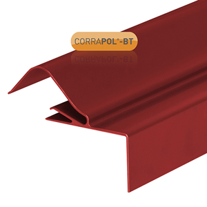 Picture of Corrapol-BT Rigid Rock n Lock Side Flashing 6m Red