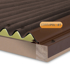 Picture of Corrapol-BT Rigid Rock n Lock Side Flashing 2m Brown