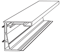 Aluminium Gable Beam 4M