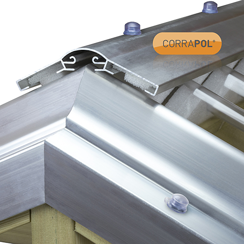 Picture of Corrapol Aluminium Super Ridge Bar Set 2m Mill