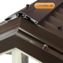 Picture of Corrapol-BT Aluminium Super Ridge Bar Set 6m Brown