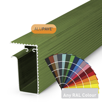 Picture of Alupave Fireproof Flat Roof & Decking Side Gutter 2m PC