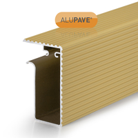 Picture of Alupave Fireproof Flat Roof & Decking Side Gutter 2m Sand