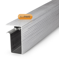 Picture of Alupave Fireproof Flat Roof & Decking Side Gutter 3m Mill