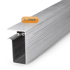 Picture of Alupave Fireproof Flat Roof & Decking Side Gutter 6m Mill