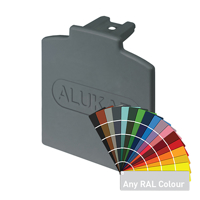 Picture of Alukap-XR Additional Bar Endcap Each P