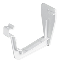 Square-line Fascia Bracket in White