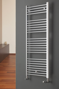 Picture of CHROMO STRAIGHT LADDER TOWEL RADIATOR VERTICAL (CHROME)